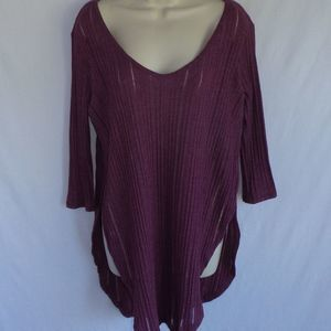 Free People Tunic Side Slit Top S
